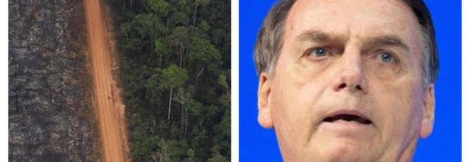 Amazzonia in fiamme, Bolsonaro ci ripensa: «Pronto ad accettare aiuti del G7»