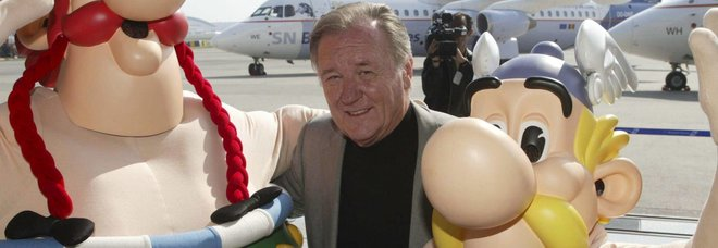 Albert Uderzo, morto il disegnatore di Astérix e Obelix. La famiglia: «Nessun legame con coronavirus»
