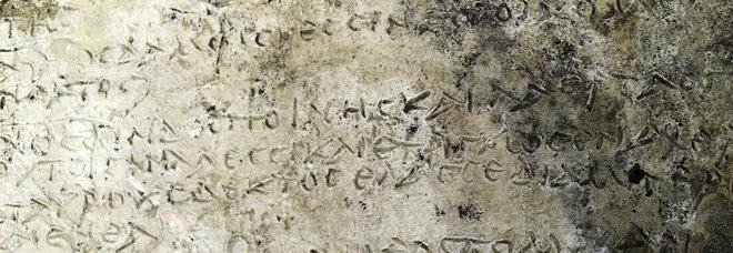 Grecia, scoperta tavoletta con i versi dell'Odissea: «E' l'estratto più antico»