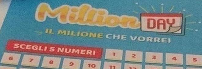 Million Day, i numeri vincenti di giovedì 12 settembre 2019