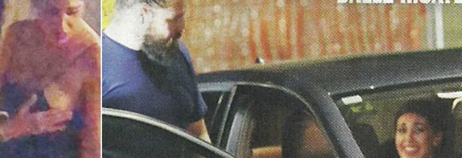 Belen Rodriguez scatenata, incidente hot nell'uscita con Martin Castrogiovanni