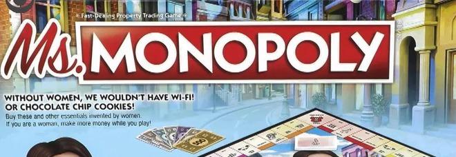 Arriva Ms. Monopoli, la nuova versione del gioco dove le donne guadagnano di più