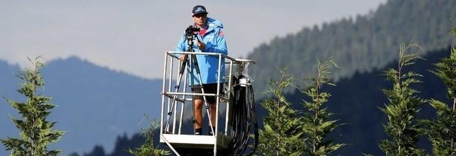Napoli, c'era una volta il drone: allo staff di Ancelotti basta... la gru