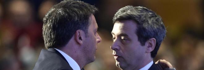 """Orlando a Renzi: """"Mai alleanze con Berlusconi"""". Guerini lo attacca"""