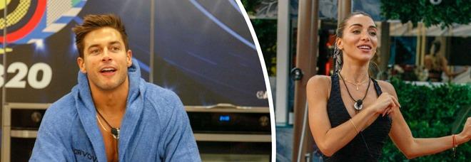 Grande Fratello Vip 2020, Andrea Denver nega il flirt con Elisa e poi si scusa. Lei lo stuzzica: «Sei in astinenza»
