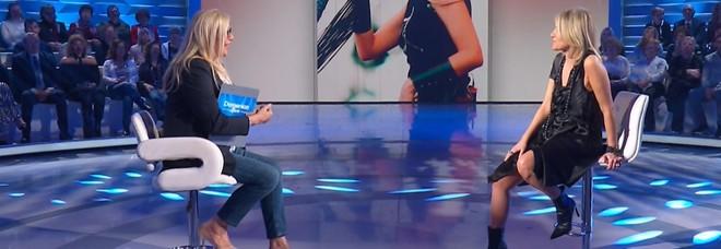 Irene Grandi a Domenica In dopo la gaffe di Mara Venier: «Mi volevo ammazzare...»