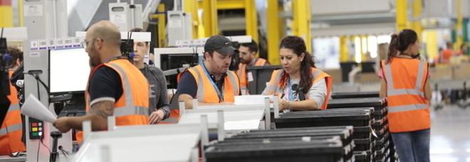 Amazon, nel 2018 creati in Italia oltre 2mila nuovi posti di lavoro