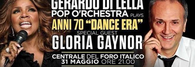 """""""Can't take my eyes off you"""" di Gloria Gaynor compie 50 anni: il 31 maggio si festeggia al Centrale del Foro Italico"""