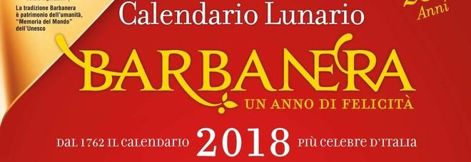 Il fantastico calendario Barbanera 2018 in edicola con il Gazzettino