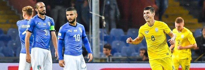 L'Italia non riesce più a vincere: con l'Ucraina finisce 1-1