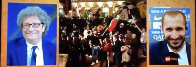 «Gli scudetti sono 34», la risposta di Cucchi a Chiellini diventa virale