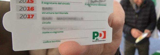 Caos tessere Pd, accuse su dalemiani a Lecce