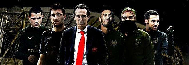L'Arsenal festeggia la qualificazione ed evoca Gomorra