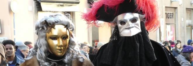 Il carnevale di questo pomeriggio a Viterbo