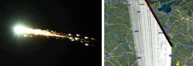 Meteorite in Emilia Romagna? Bolide segnalato da esperti e residenti: è caccia ai frammenti