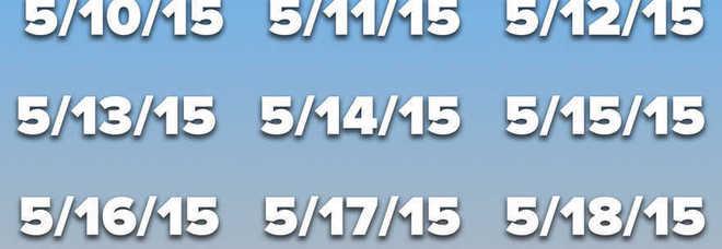 Tutti i giorni di questa settimana sono palindromi (almeno secondo il calendario Usa)