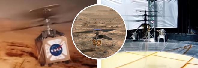 La Nasa: «Un elicottero in grado di volare su Marte, il lancio nel 2020»
