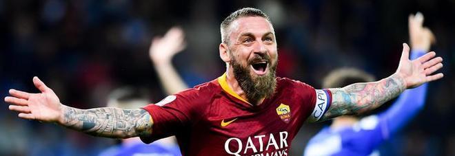 De Rossi lascia la Roma: contro il Parma l'ultima partita. «Nuova avventura lontano da qui»