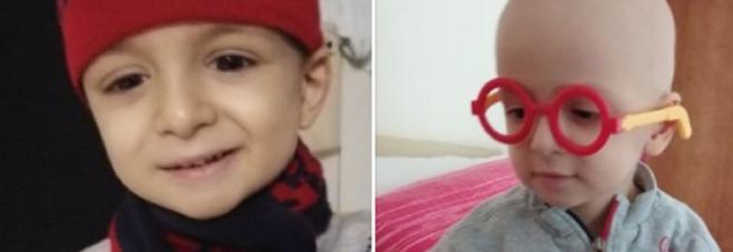 Il piccolo Giorgio non è sopravvissuto al tumore. Il dolore del papà: «È volato via»