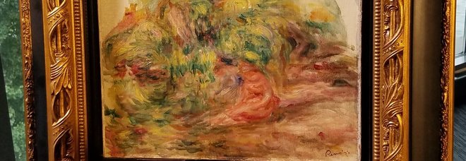 Renoir, il dipinto trafugato dai nazisti ritorna ai legittimi proprietari dopo 77 anni