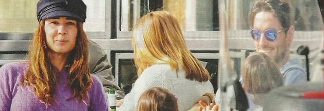 Silvia Toffanin e Pier Silvio Berlusconi, fuga con i figli Lorenzo Mattia e Sofia Valentina