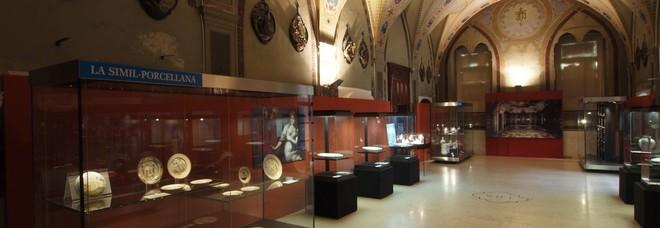 Una delle sale interne del museo Castromediano