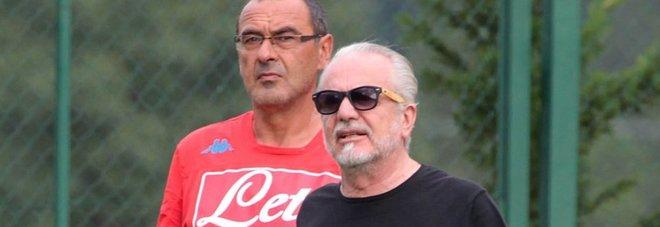 De Laurentiis risponde a Sarri: «Torti arbitrali? Nessun alibi»
