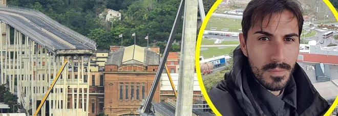 Davide, sbalzato dal Ponte Morandi: «Un volo di 30 metri, non dormo più». Così si è salvato