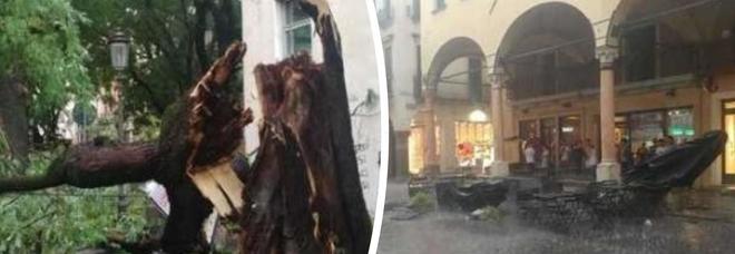 Meteo, Italia divisa in due: temporali e danni al Nord, caldo africano al Sud