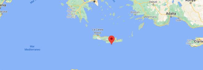 Terremoto a Creta di 5.9, paura in una vasta area del Mediterraneo