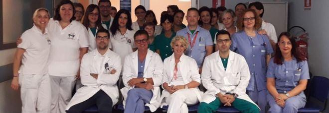 Il team del centro di audiologia fonetica di Pordenone