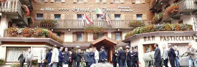 Lo storico Hotel Posta di Caprile, della famiglia Pra'
