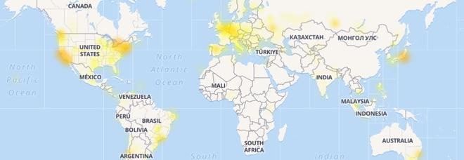 Instagram down, l'app non funziona in alcune zone del mondo