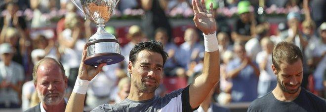 Tennis, Fognini trionfa a Bastad