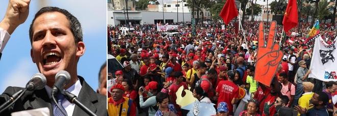 Venezuela nel caos, Guaido si proclama presidente. E Trump lo riconosce per primo
