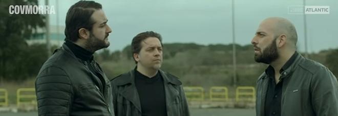 Una scena del video Gomorra ai tempi del coronavirus