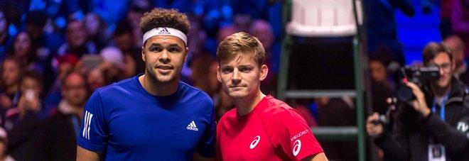 Coppa Davis, Goffin batte Tsonga: Francia-Belgio sul 2-2