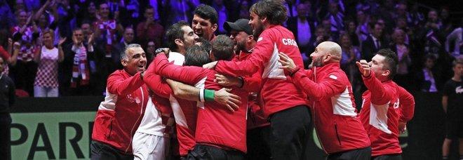 La Croazia conquista la Coppa Davis: 3-1 alla Francia