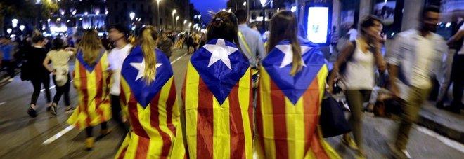 """Lo """"Stato catalano"""" piace solo  a 1 italiano su 3 ma la maggioranza  boccia l'uso della forza"""