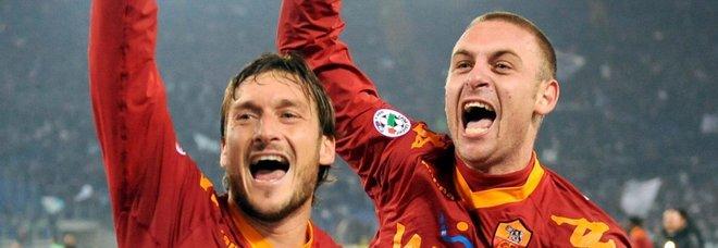 Totti saluta De Rossi: «Sei il mio fratello acquisito. Oggi è un giorno triste»