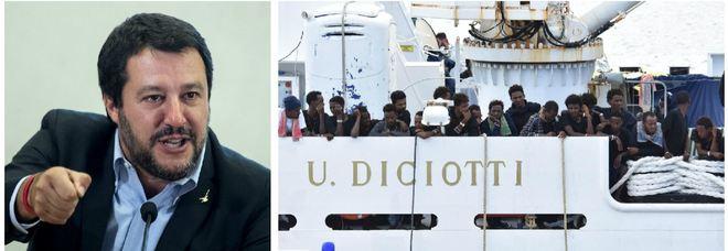 Diciotti, 42 migranti parte civile. Salvini: «Sono medaglie»