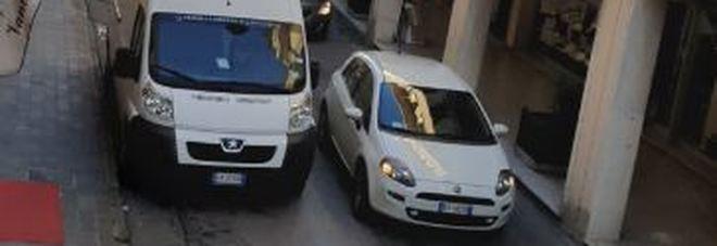 Via Oberdan in centro a Rovigo