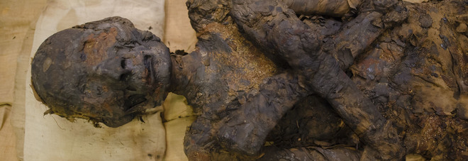 Medicina e Polizia al lavoro per dare un volto ai due egiziani di 3mila anni fa