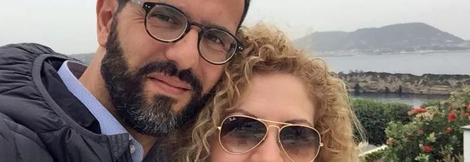 Antonio Santopaolo e la moglie Carmen Tammaro, i genitori, entrambi morti, della piccola ricoverata al Gemelli