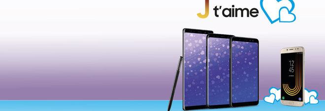 Per San Valentino arriva Samsung Galaxy A8, lo smartphone per gli innamorati sempre connessi
