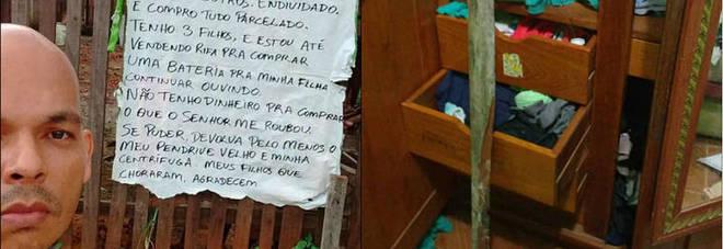 Brasile, uomo derubato scrive un messaggio al ladro «Sono un professore povero, restituiscimi ciò che mi hai sottratto»