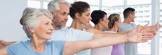 Fitness per adulti, ora più spazio agli over 50: si vive più a lungo