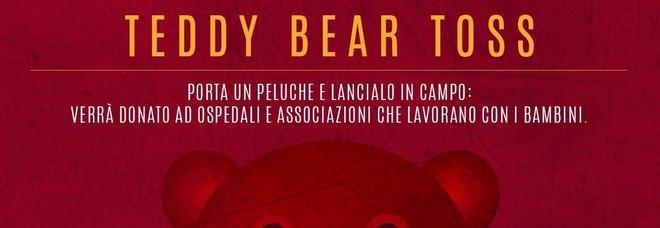 Virtus Roma, domani la 'Teddy bear toss' al Palazzo dello Sport