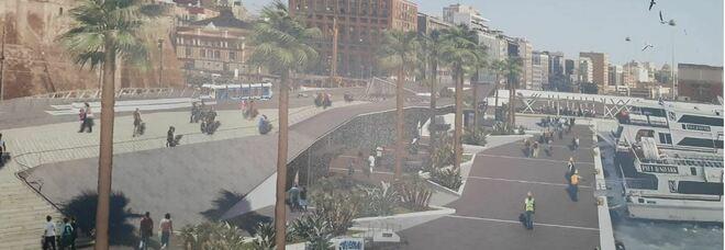 Molo Beverello, così il porto si prepara ad abbracciare la città di Napoli