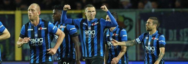 Atalanta-Fiorentina 2-1, in finale contro la Lazio ci saranno i nerazzurri